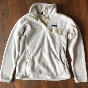 White pullover women's Patagonia